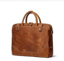 Leather Office Bag for Men and Women - Office Backpack