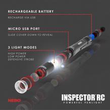 Rechargeable Waterproof LED Penlight