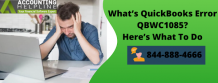 How to solve QB Enterprise 10 error QBWC1085