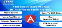 7 Ingenious Ways You Can Do After Mean Stack online Course
