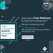 Builderfly Ecommerce Platform is going to conduct the Seventh Free Webinar   BUILDERFLY