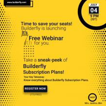 Builderfly Ecommerce Platform is going to conduct the Seventh Free Webinar – Builderfly