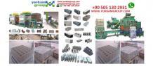 Les machines de fabrication des parpaings - définition parpaing - Yorkam Group