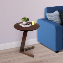 Fraser Wooden Side Table For Living Room - PlusOne India