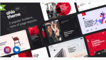 Ohio - Most Creative Portfolio & Agency WordPress Theme