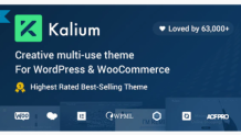 Kalium - Best Creative Theme for Professionals 2021
