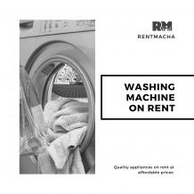 Washing Machine on Rent in Chennai