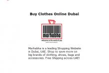 Buy Clothes Online Dubaib