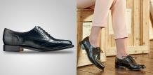 Freya - Women's Leather Brogue Shoes By Barker