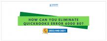 Resolve QuickBooks Desktop Error 6000 80 - Rectify Now