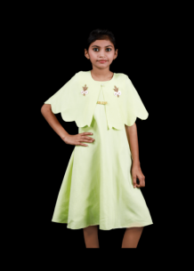 Buy Designer Frocks Online for Kids | BhagyasAttire