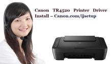 Canon TR4520 Printer Driver Install – Canon.com/ijsetup