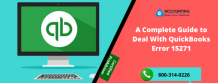 A Complete Guide to Deal With QuickBooks Error 15271