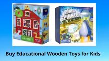 Buy Educational Wooden Toys for Kids to Improve their Learning Abilities