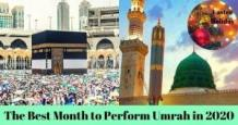 The Best Month to Travel for Umrah in 2020