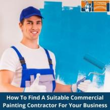 How To Find A Suitable Commercial Painting Contractor For Your Business