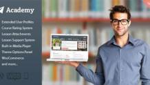 Academy - Learning Management Theme - scoopbiz.com