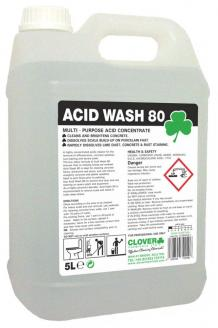 Acid Wash 80 - Highly Concentrated Acidic Cleaner