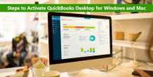 How to Register or Activate QuickBooks Desktop for Windows and Mac?