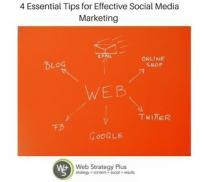 4 Essential Tips for Effective Social Media Marketing