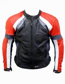Akito Titan Leather Motorcycle Jacket