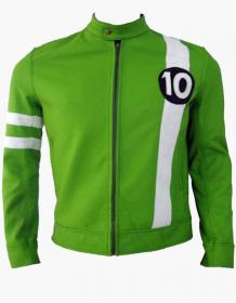 Alien Swarm Ben 10 Leather Jacket