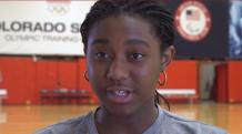The Rise of Aliyah Boston American basketball player with Shirt No-4