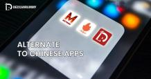 Ban on Chinese Mobile Apps - Alternative applications