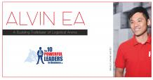 A Budding Trailblazer of Logistical Arena | Alvin Ea | Leaders in Business