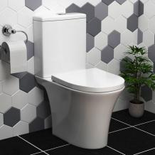 Close Coupled Toilet Simple Design with Modern Features royalbathrooms