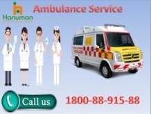 Top Level Road Ambulance Service in Bokaro by Hanuman Ambulance