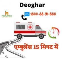 Hire Best and Top Level Road Ambulance Service in Deoghar by Hanuman Ambulance