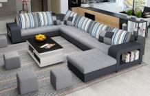 Buy Premium Wooden Furniture For Your Home  Order Online L Shape Sofa Set Sheesham Wood for Living Room At Best Price | Casastay.in