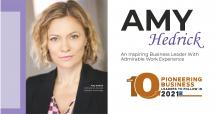 Amy Hedrick: An Inspiring Business Leader with Admirable Work Experience