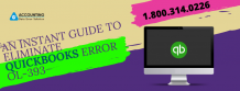 An Instant Guide To Eliminate QuickBooks Error OL-393