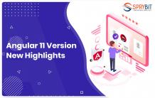 What is the latest update of Angular 11 version?