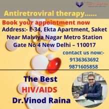 Best HIV/AIIDS doctor Dr.Vinod Raina  : What are the uses of Antiretroviral therapy?