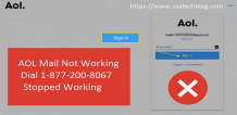 AOL Mail Not Working:+1-877-200-8067 Currently Unavailable Problem