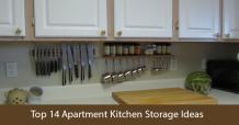 14 Top Small Apartment Kitchen Storage Ideas