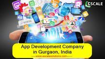 Mobile app development company in Gurgaon