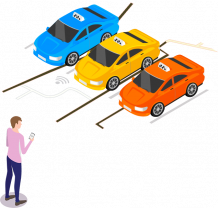Taxi App Development Company | Taxi Booking App Development | INORU