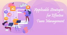 Applicable Strategies for Effective Team Management