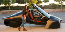 Aptera is a three-wheeled electric car and a range up to 1,600km |Electric Cars|Electric Hunter