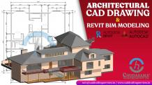 Architectural CAD Drawing and Revit BIM Modeling Services