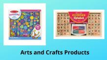 Find the Best Arts and Crafts Products for Your Kids Online