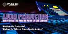 Audio Production: Everything You Need to Know to Get Started - Studio 52