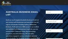Australia business email list