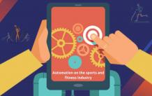 How does automation work in the sports and fitness industry?