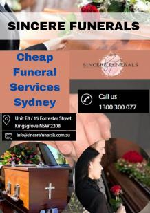 Cheap Funeral Services Sydney