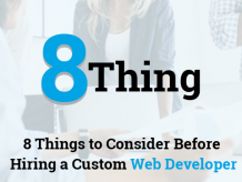 Custom web development programmers, consultants, solutions: Why hire?